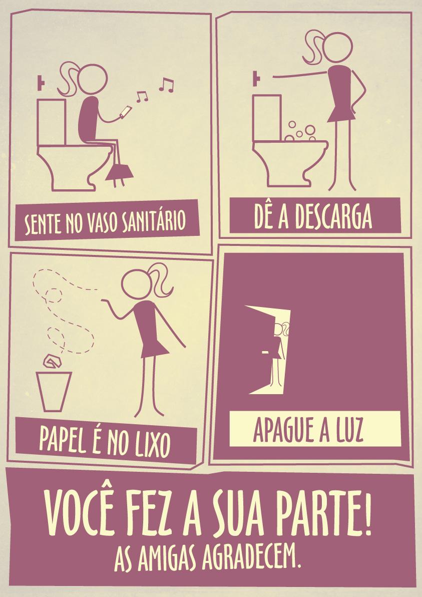 Higiene Para Banheiro : Higiene m?rcio pote
